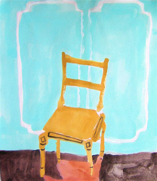 Blonde Chair Bella Foster Drawings